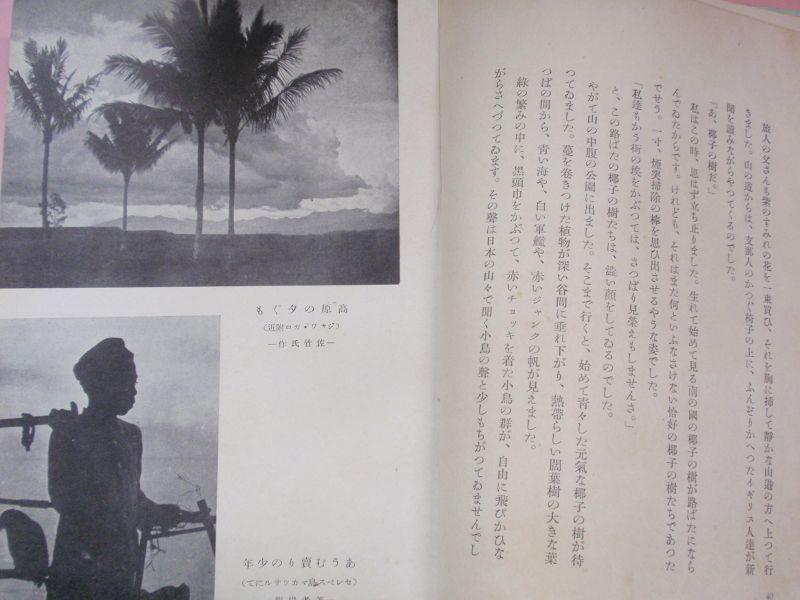 椰子の樹かげ ジャワの思ひ出 小出正吾 装画・三雲祥之助